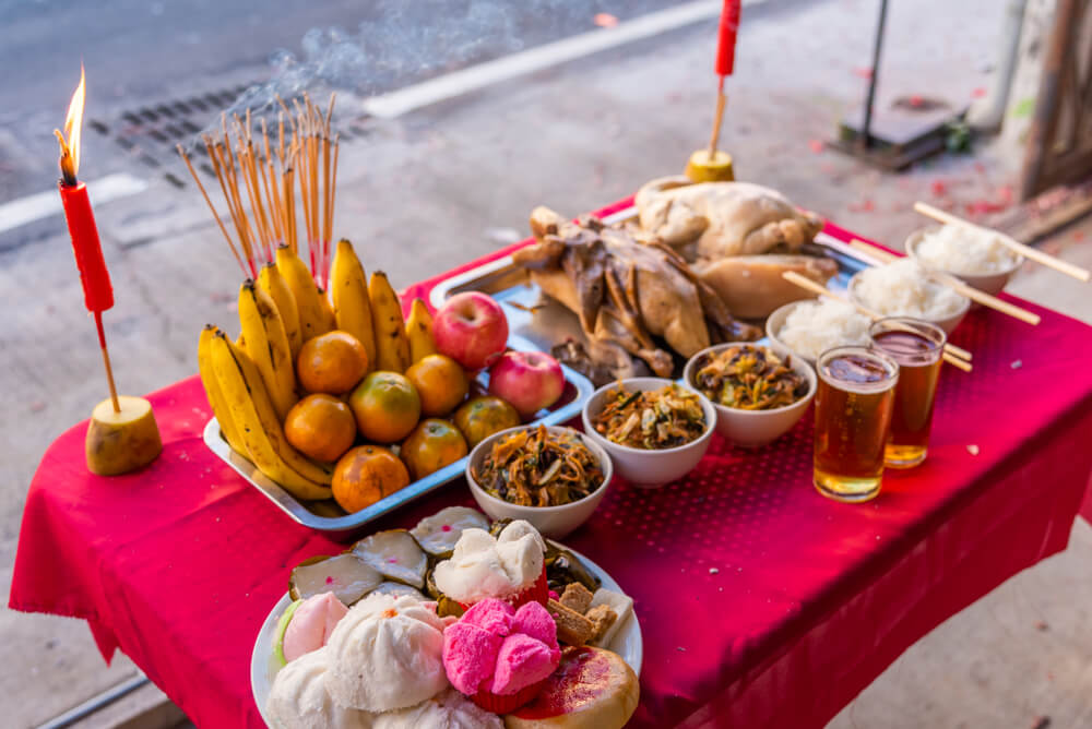 เทศกาล สารทจีน