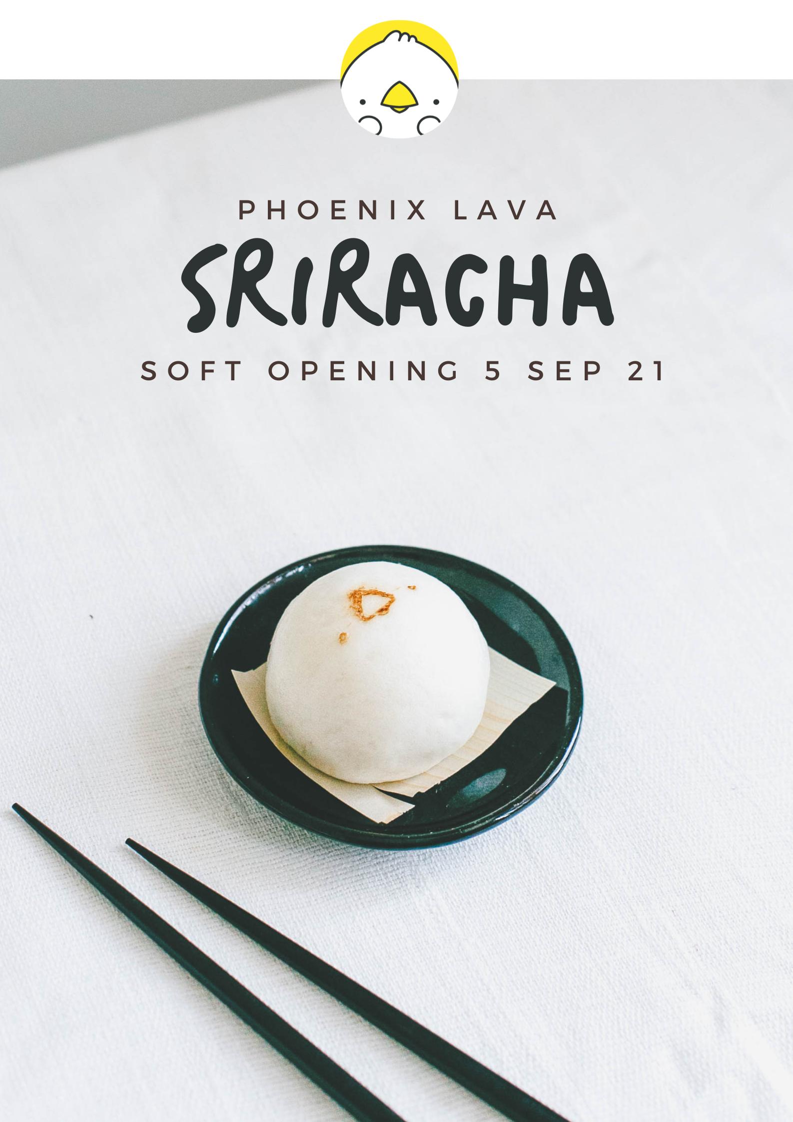 Phoenix Lava  J-Park Sriracha 日本むら。