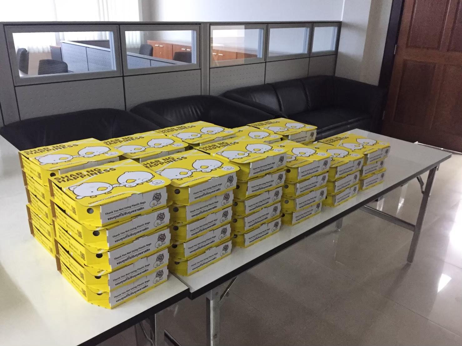 ซาลาเปา snack box, snack box ซาลาเปา พัทยา